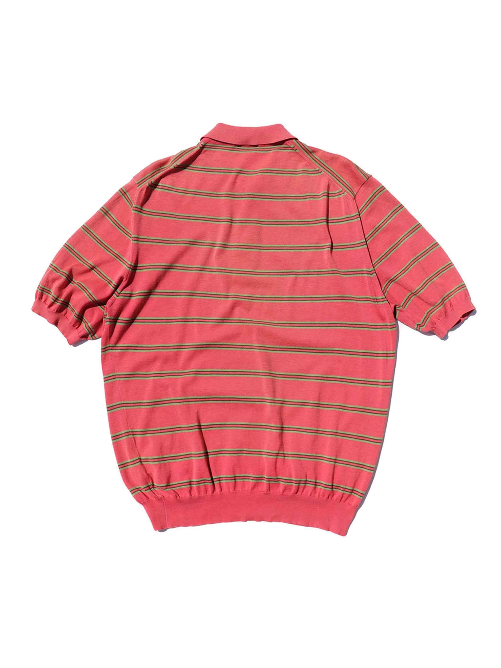 90's~ AVON CELLI コットンニット ポロシャツ [52]