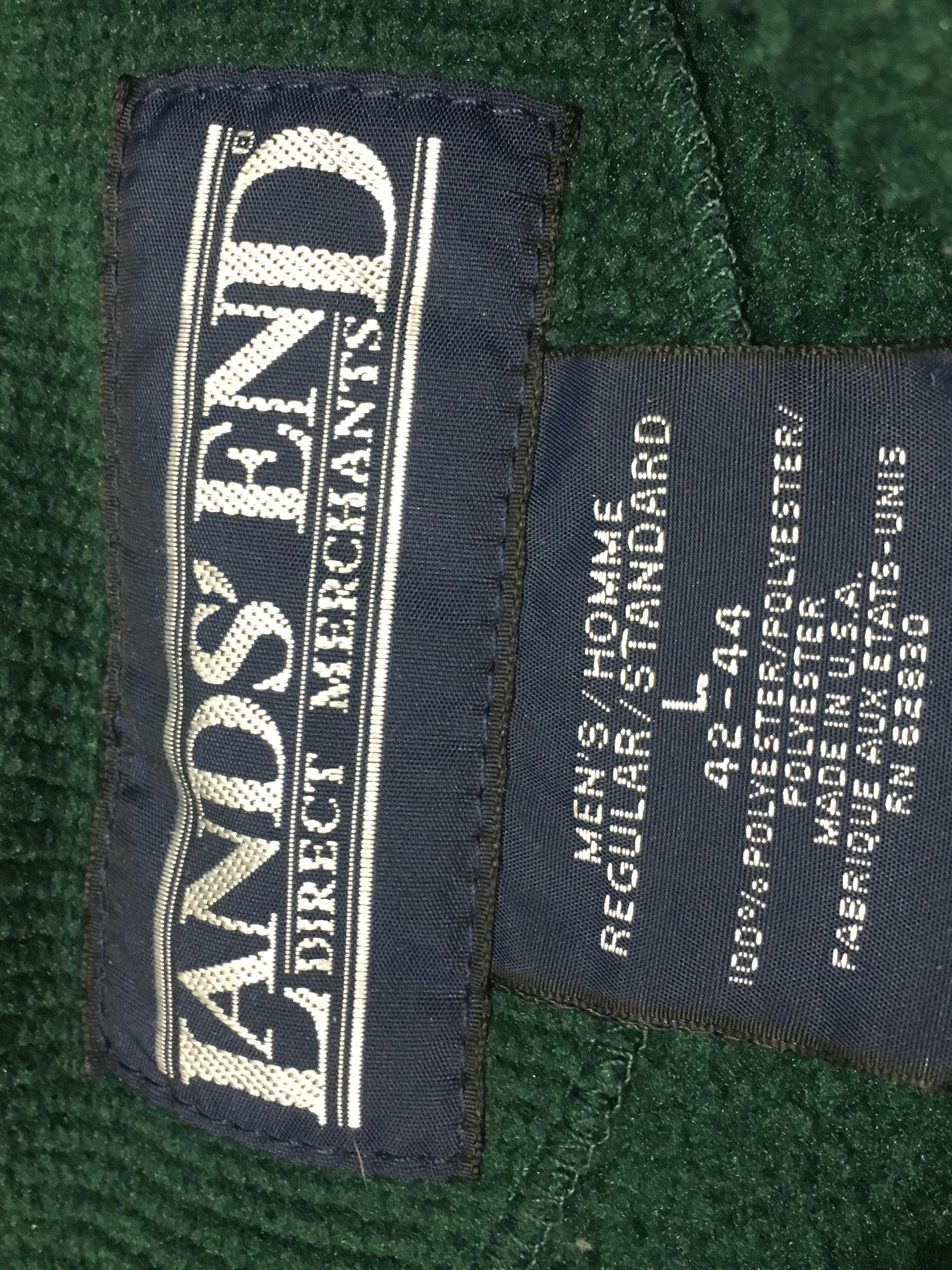 LANDS' END fleace jacket