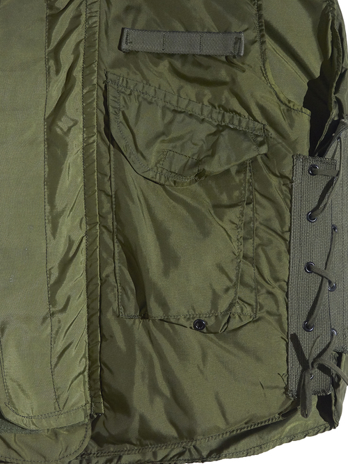 """1974y """"US ARMY"""" M-69 body armor vest -OLIVE-"""