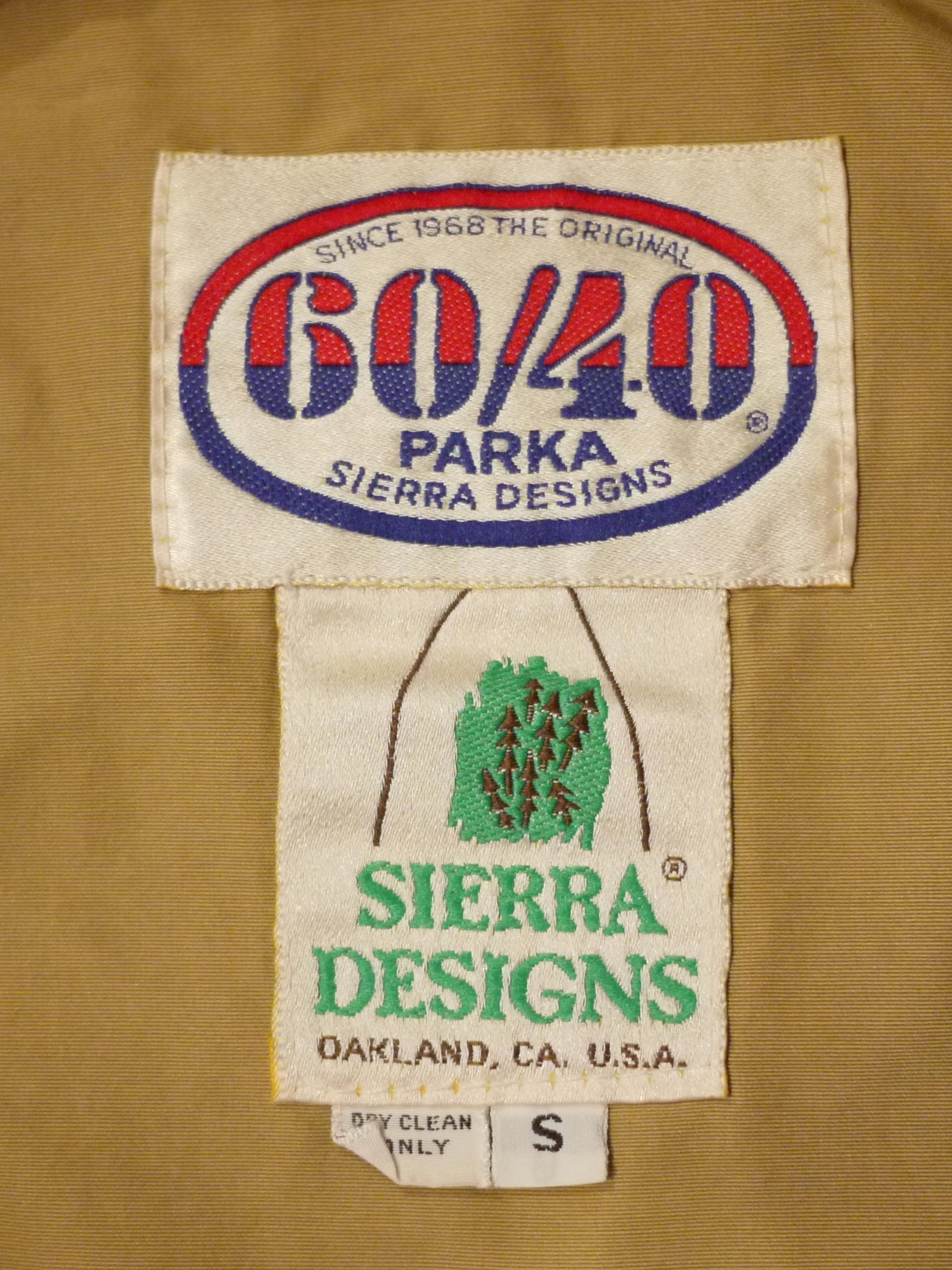 SIERRA DESIGNS 1970's Mountain parka SizeS