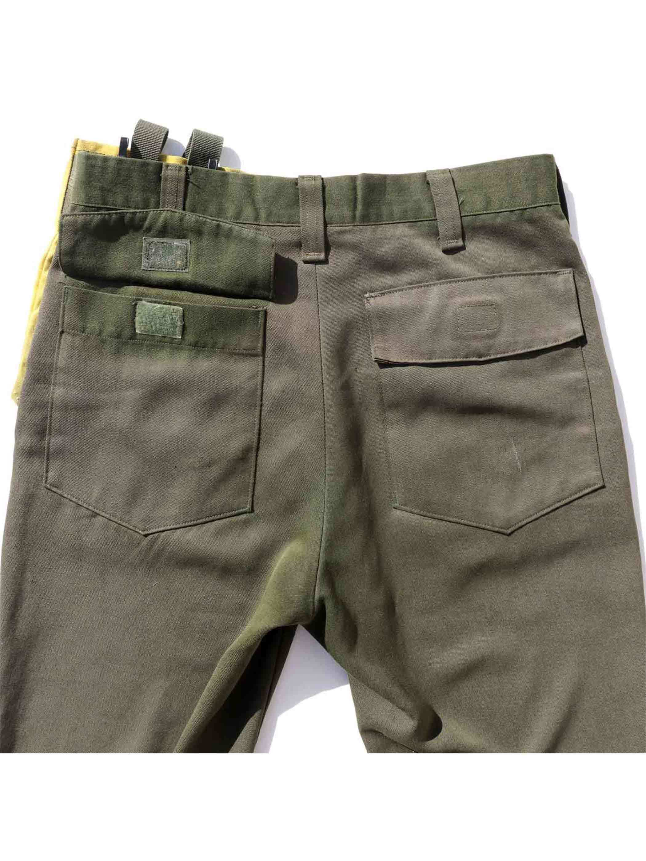 80's U.S. FOREST SERVICE Aramid Flame Resistant Pants [W32]