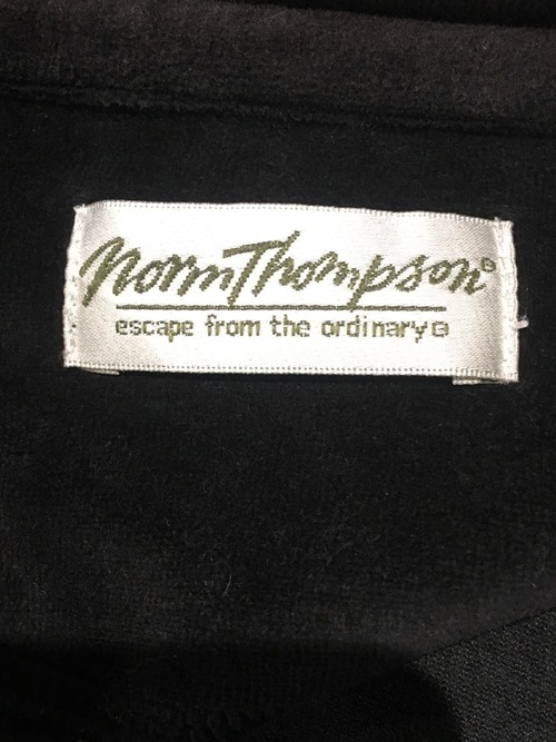 """Norm Thompson"" velor track jacket"