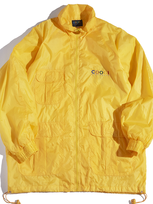 "1990s ""COOGI"" nylon training suit -YELLOW-"