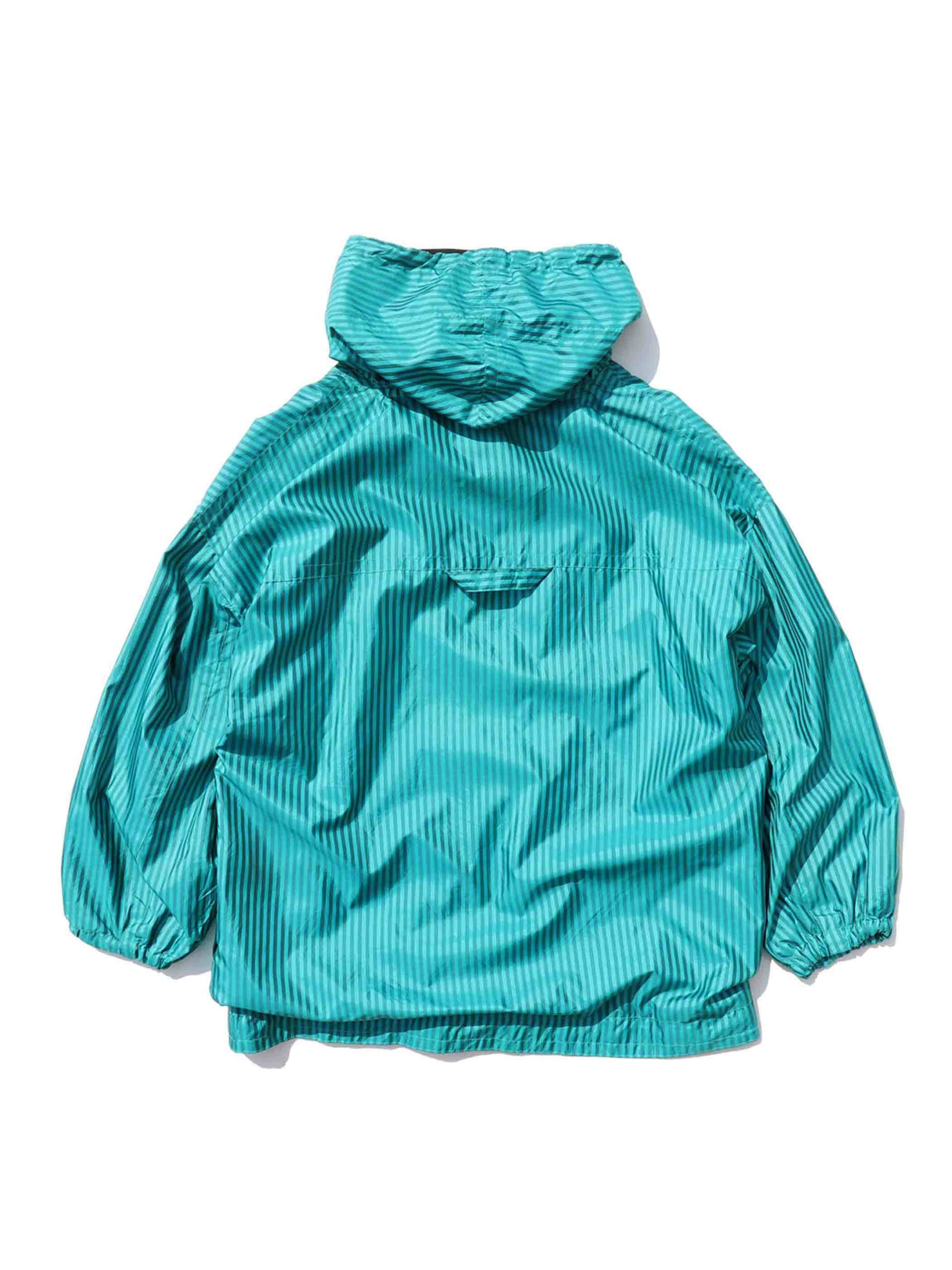 90's CLIMATE ZONE Striped Pullover Jacket [16-1/2]