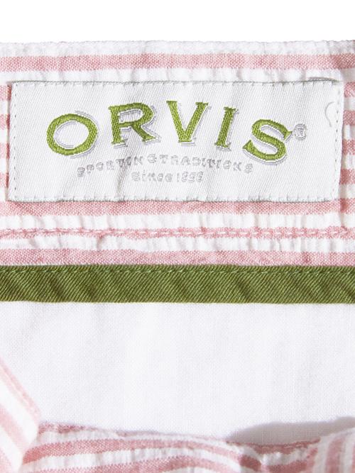 """NOS 1990s """"ORVIS"""" seersucker shorts -PINK-"""