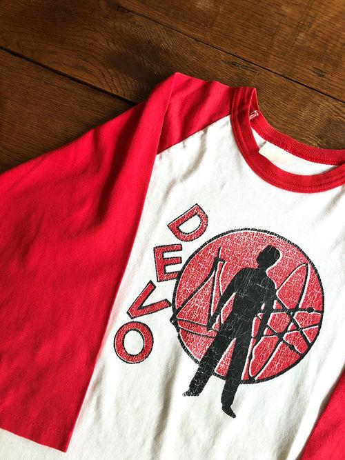 DEVO/Duty Now For The Future 1979 Raglan Sleeves shirts