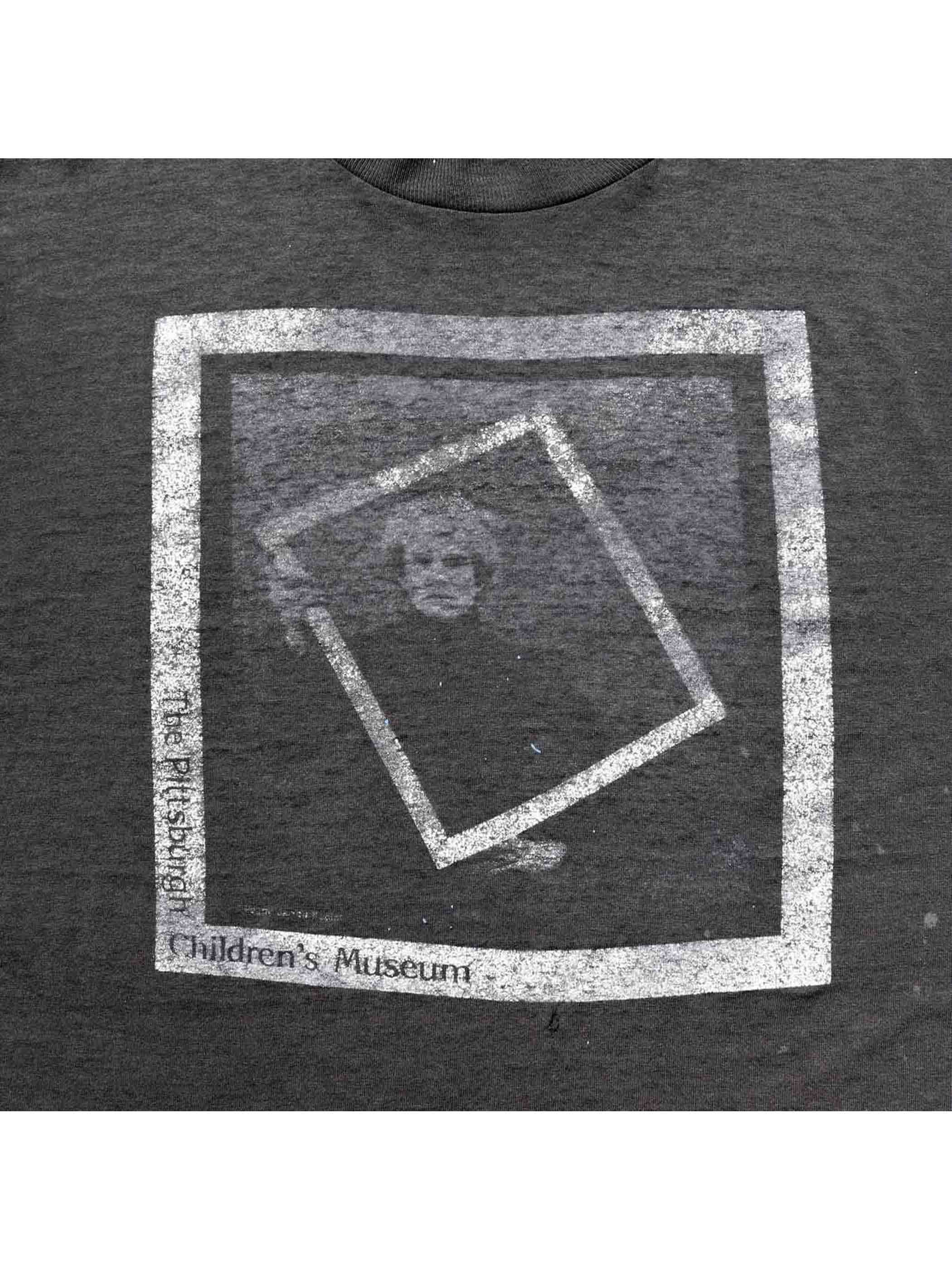 """80's ANDY WARHOL """"THE PITTSBURGH CHILDREN'S MUSEUM"""" Tシャツ [About M]"""