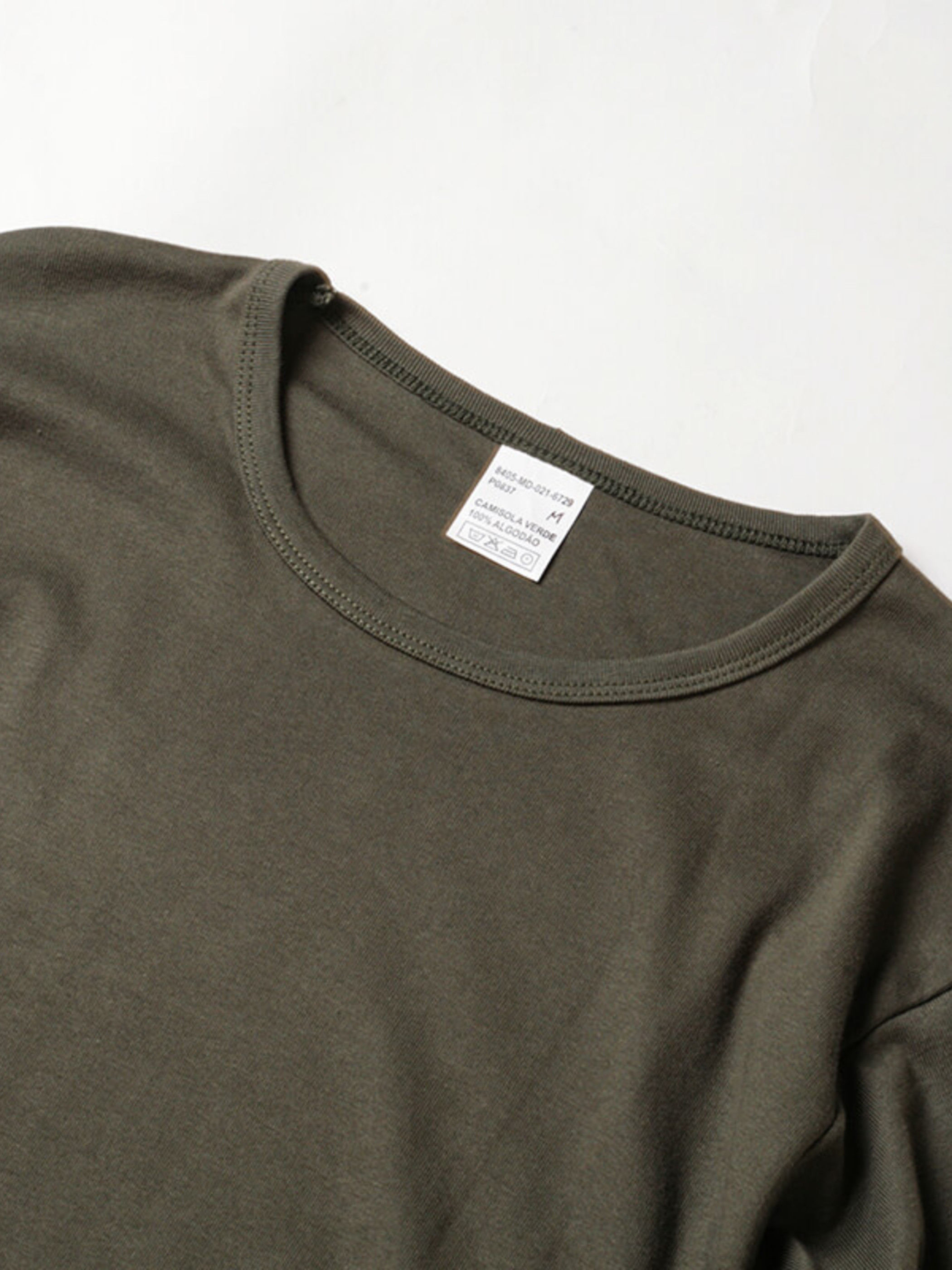 Portugal Military / Deadstock / Solid T-Shirt