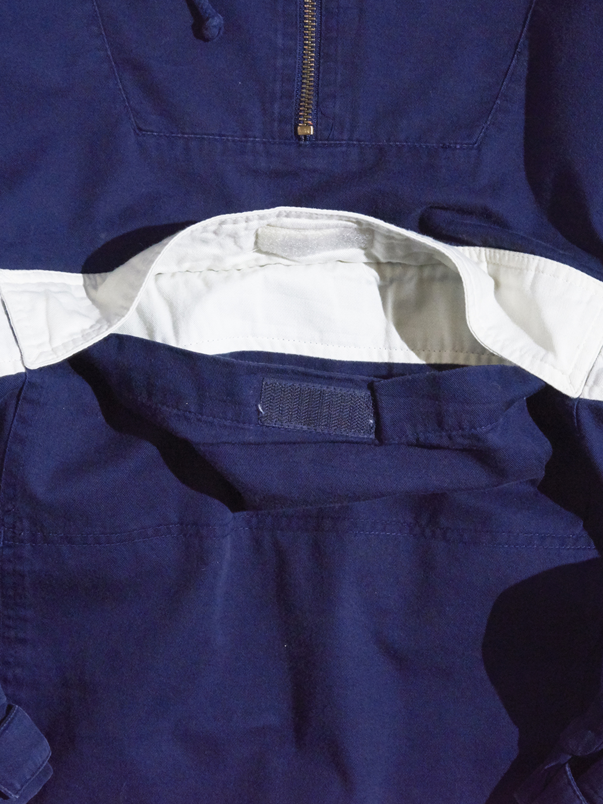 "1990s ""GAP"" cotton anorak para -NAVY-"