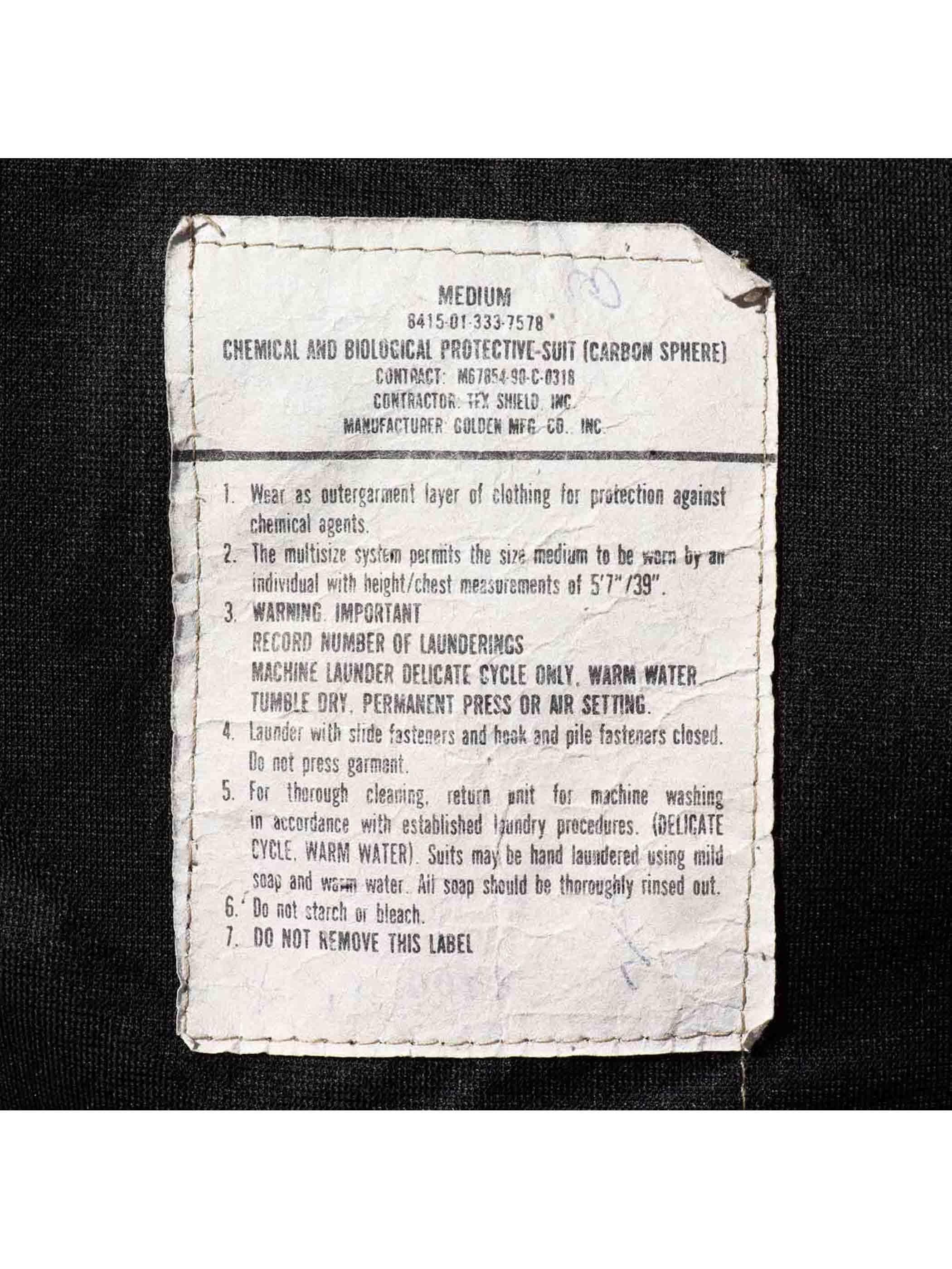 90's U.S. ARMY デザートカモ ケミカルプロテクティブジャケット [M]