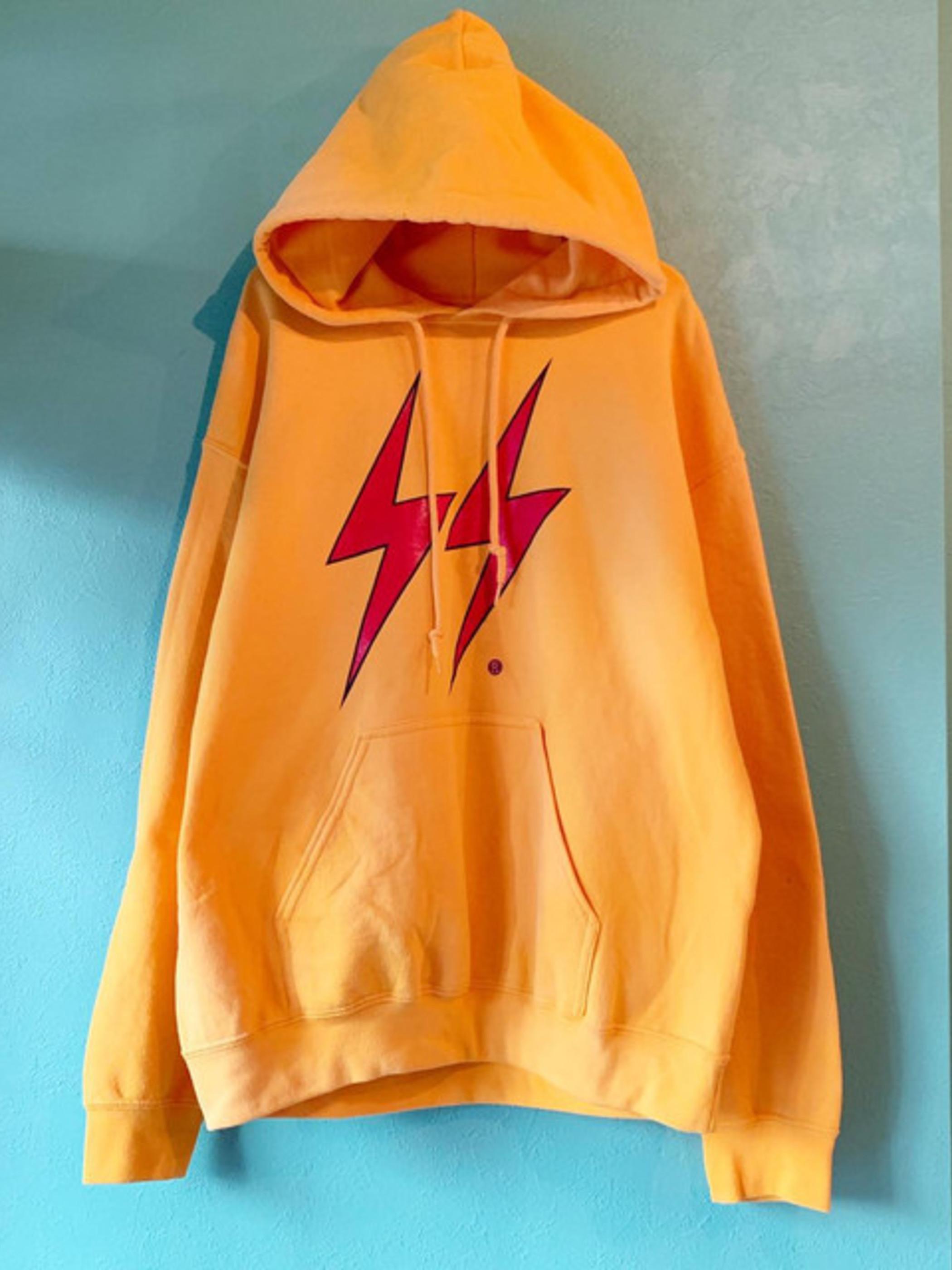 Lightning Bolt プリントパーカー
