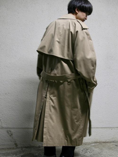 """1990s """"Burberrys"""" trench coat -BEIGE-"""