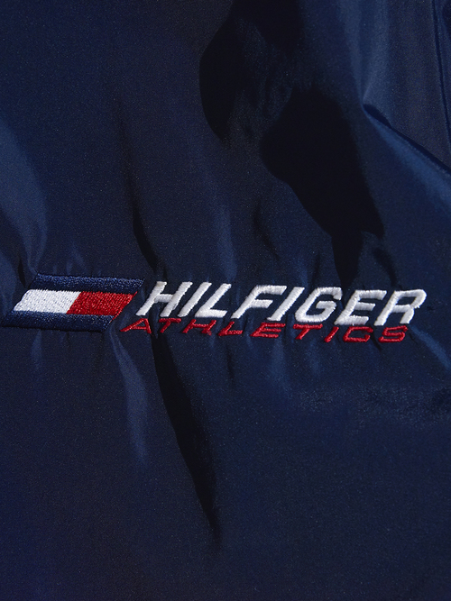 "1990s ""TOMMY HILFIGER"" nylon coach jacket -NAVY-"