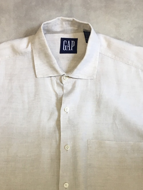 OLD GAP  L/S Linen shirts