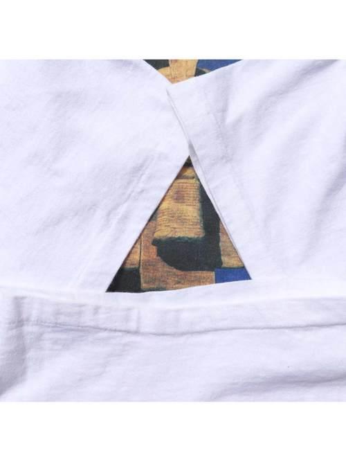 90's CAZAL EYEWEAR プリントTシャツ [XL]