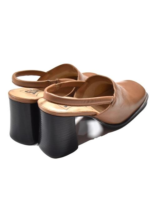 スクエアトゥ チャンキー パンプス / square toe chunky pumps