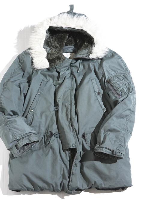 """86y """"USAF"""" N-3B flight jacket -SAGE GREEN-"""