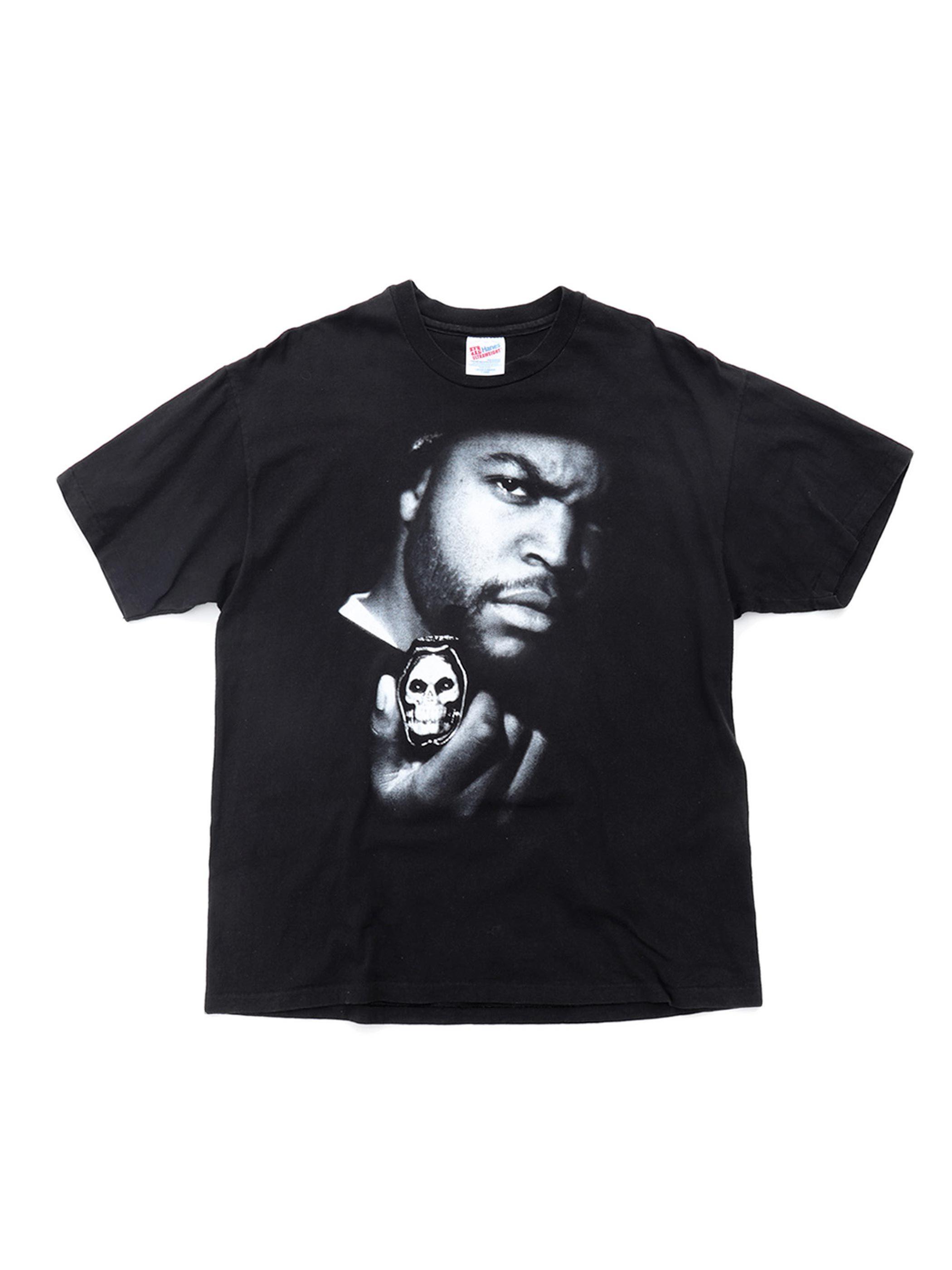 "90's ICE CUBE ""THE PREDATOR"" プリントTシャツ [XL]"