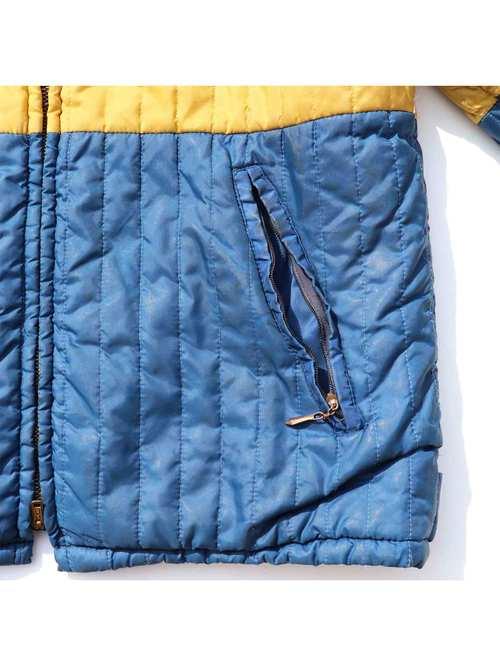 60's CAMPUS USA製 バイカラー キルティングジャケット [20]