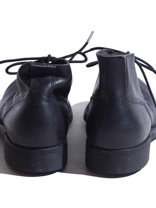 """1983y """"US NAVY"""" chukka boots -BLACK-"""