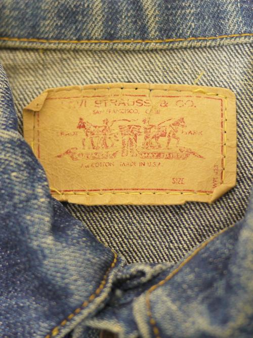 "LEVI'S 1960's 70505 Denim jacket ""BigE"""