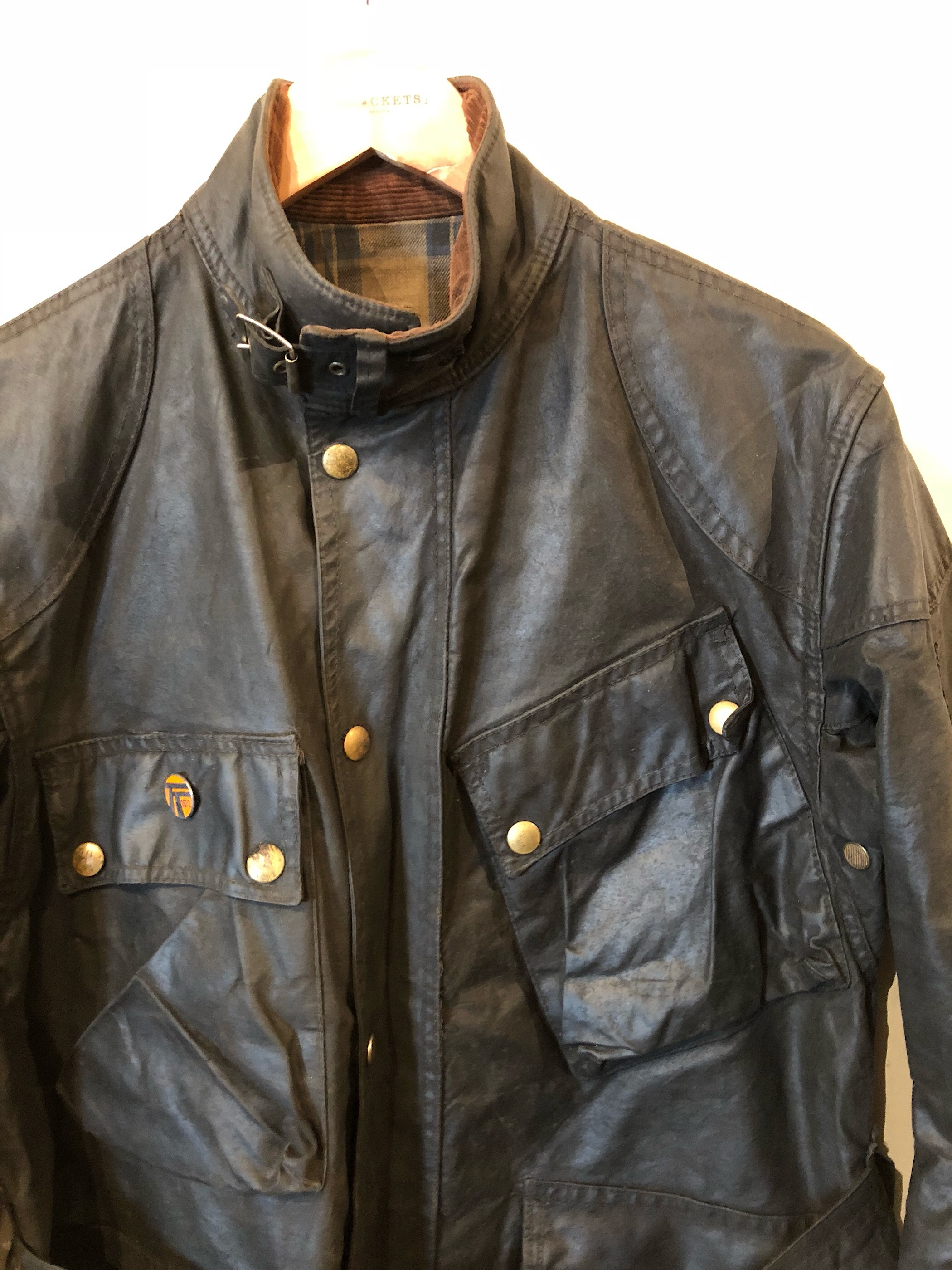 1960s Belstaff TRIAL MASTER waxed jacket
