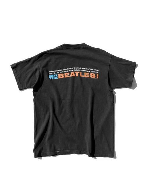 "90's THE BEATLES ""MEET THE BEATLES!"" プリントTシャツ [XL]"