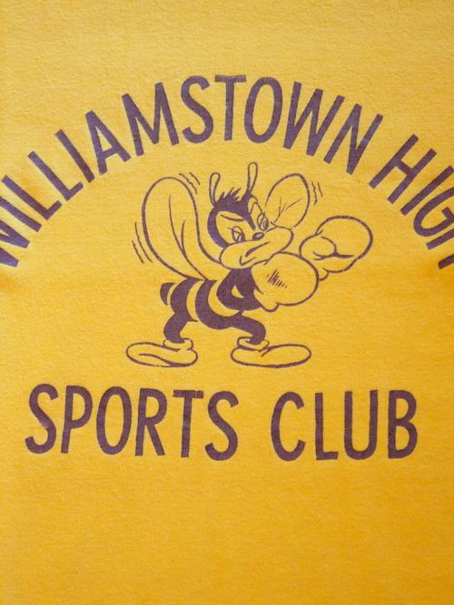 """Champion 1970's Football T-Shirts SizeM """"WILLIAMSTOWN"""""""