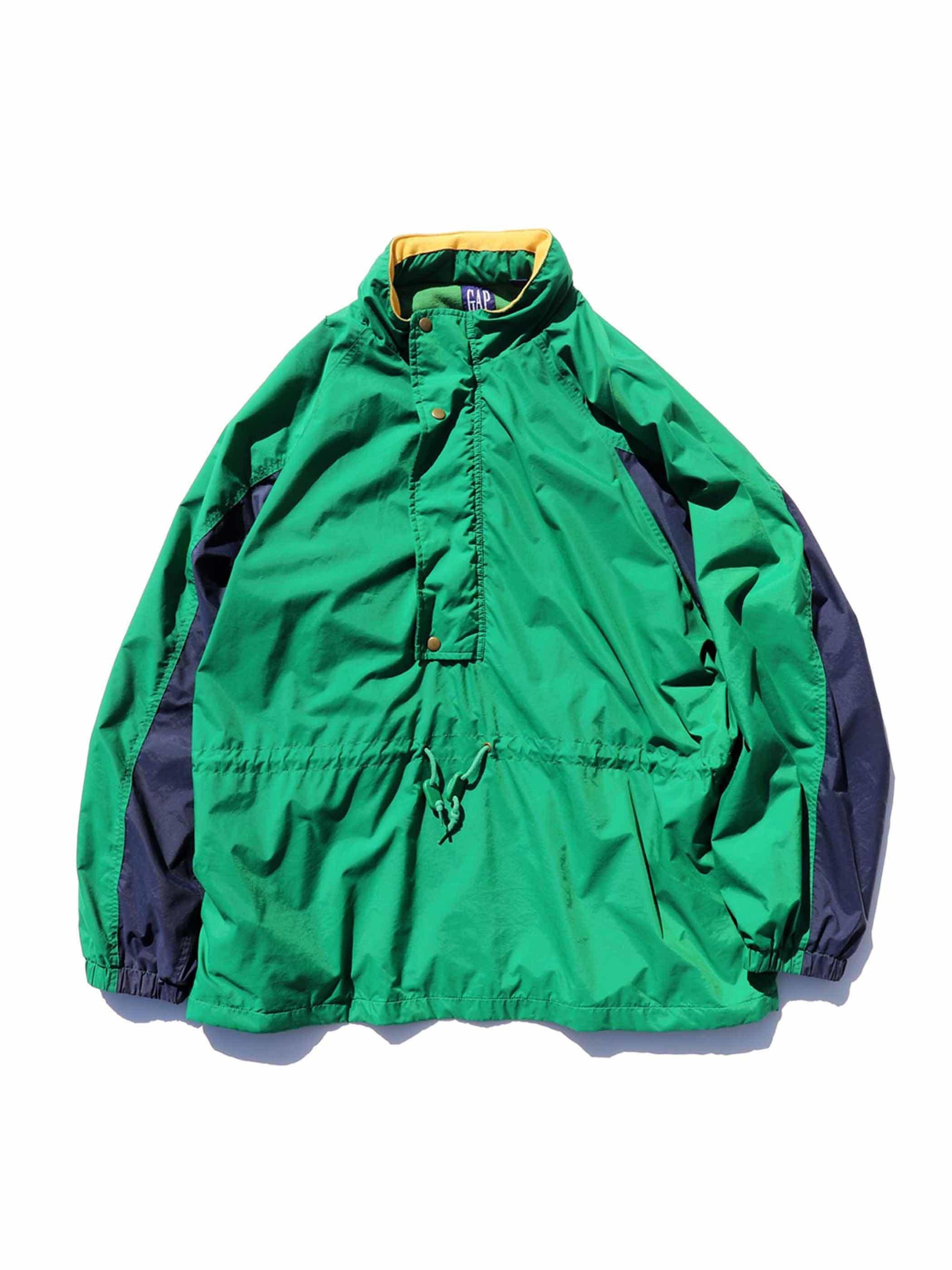 90's GAP ナイロン プルオーバージャケット [XL]