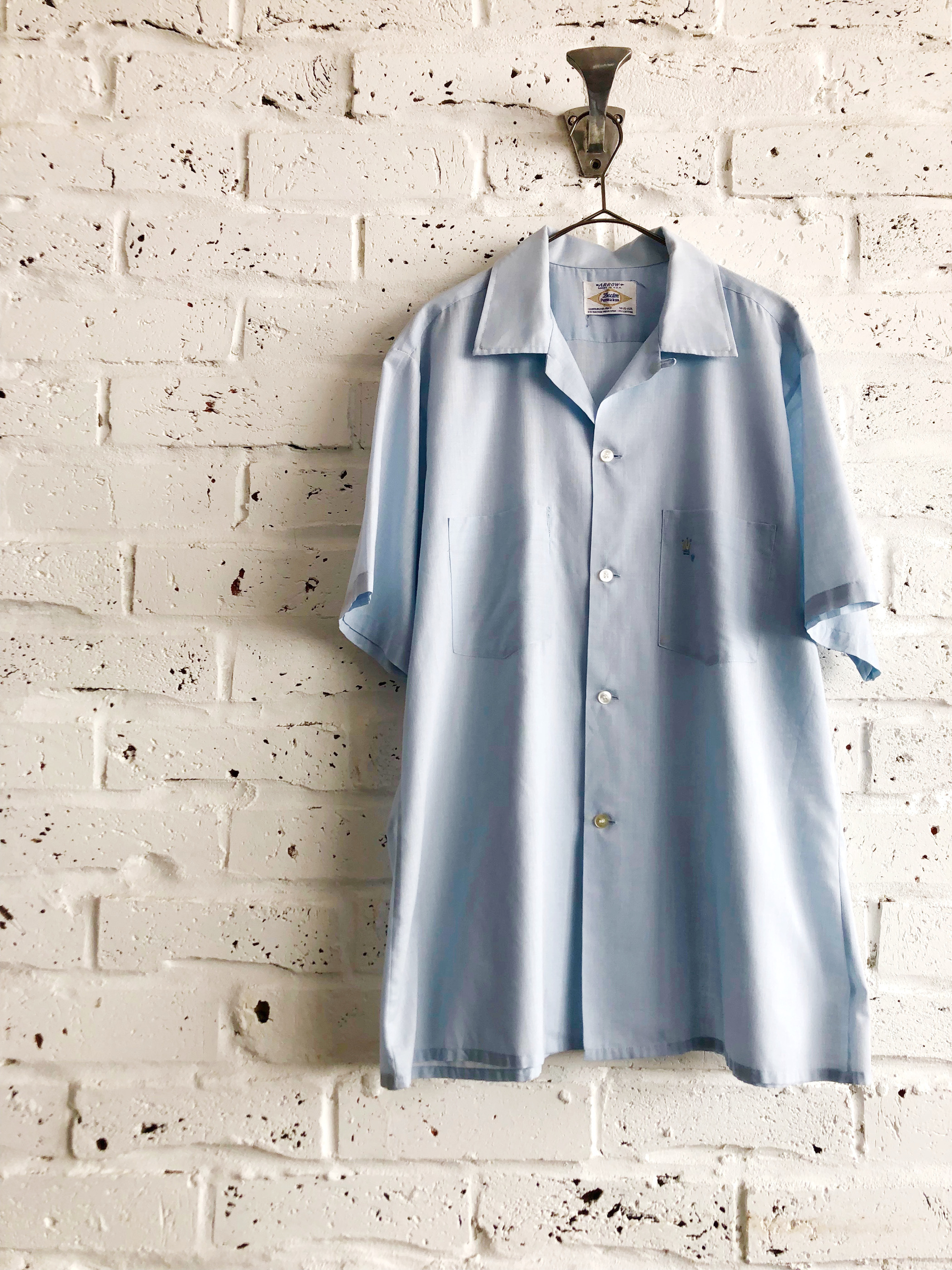 Vintage USA 60's ARROW S/S Box Shirt