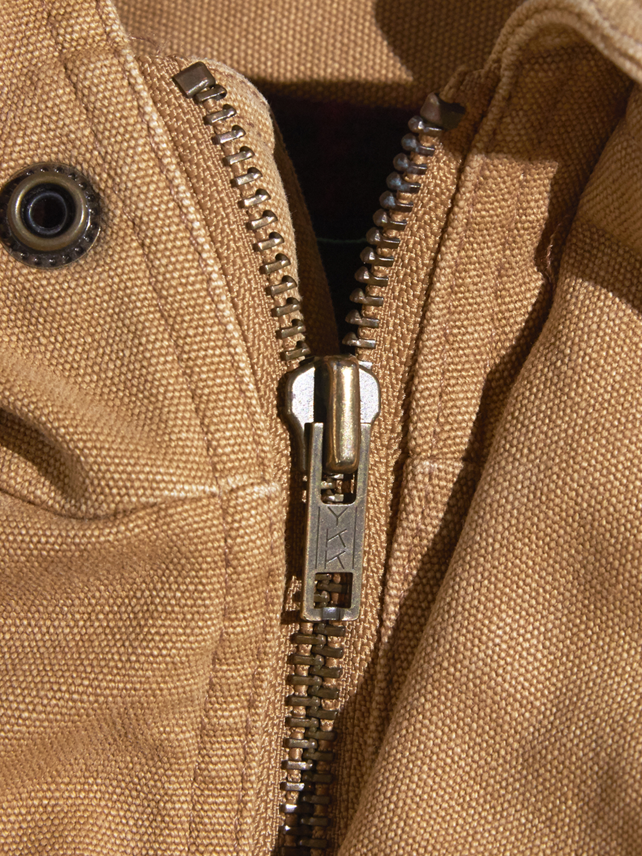 "1980s ""Abercrombie & Fitch"" duck half coat -BROWN-"