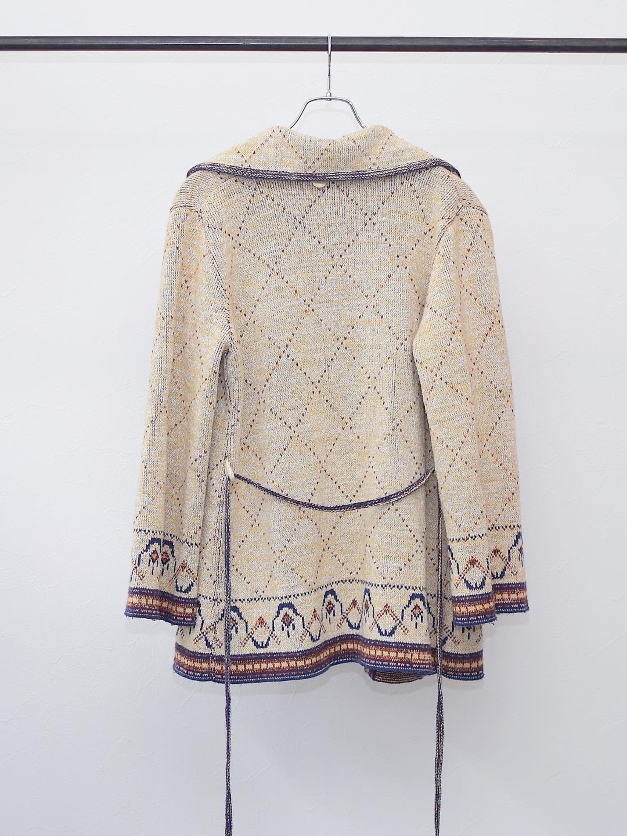 Vintage【Salra】Ethnic Cardigan