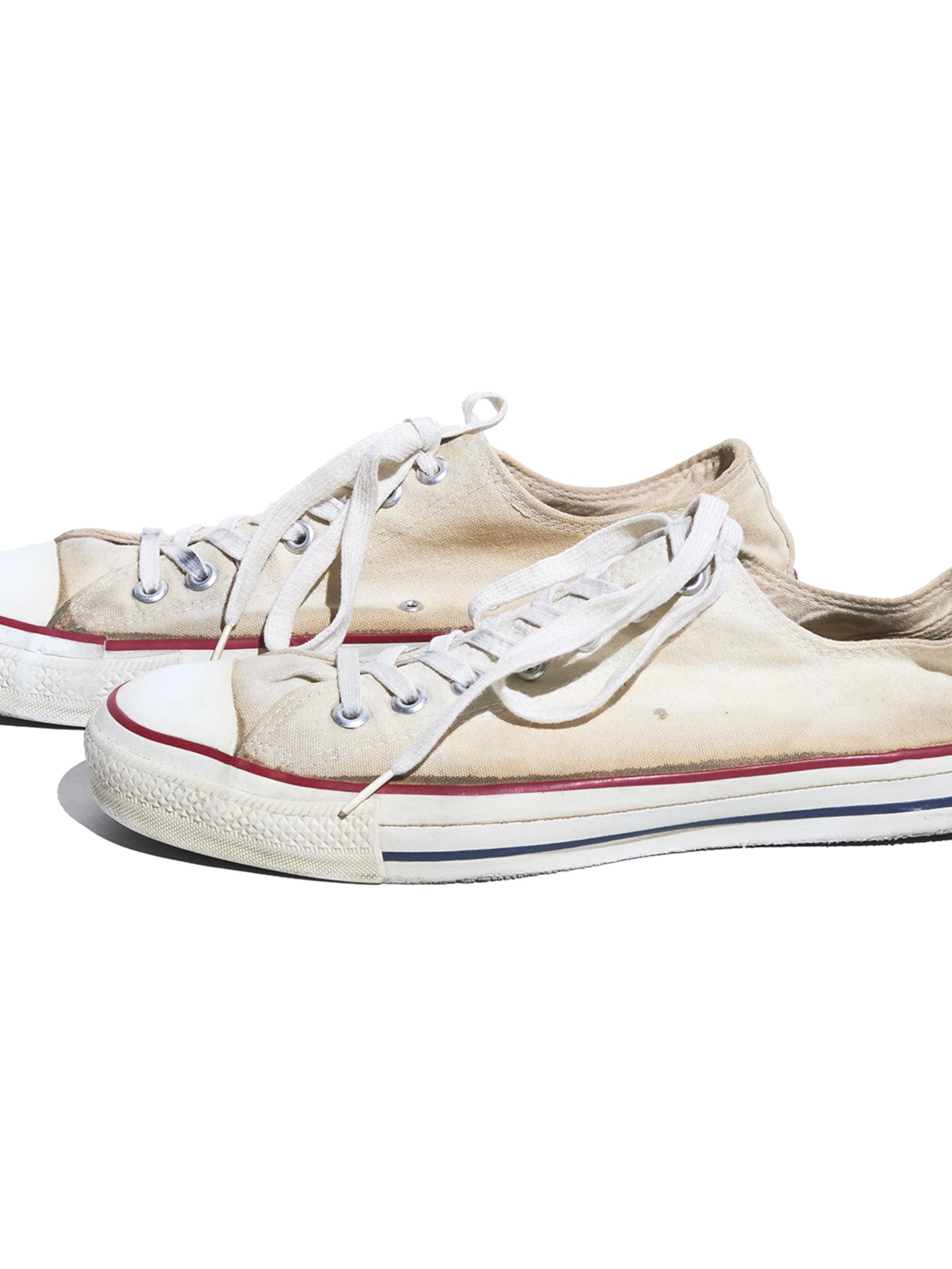 "1990s ""CONVERSE"" ALLSTAR canvas sneaker -WHITE-"