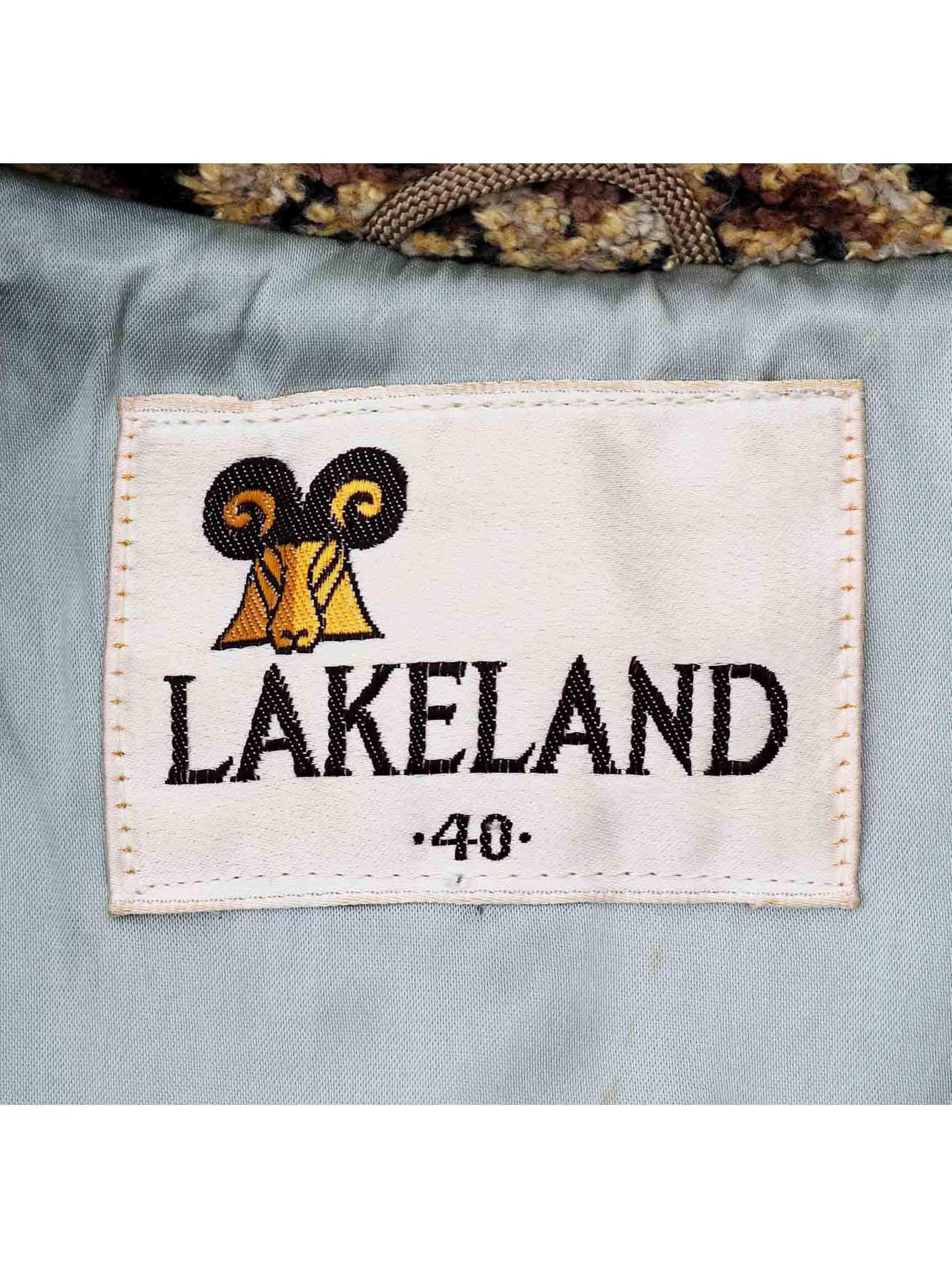 70's LAKELAND ゴブラン タペストリーコート [40]