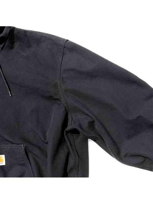 00's CARHARTT USA製 ブラック コットンダック アクティブジャケット [2XL]