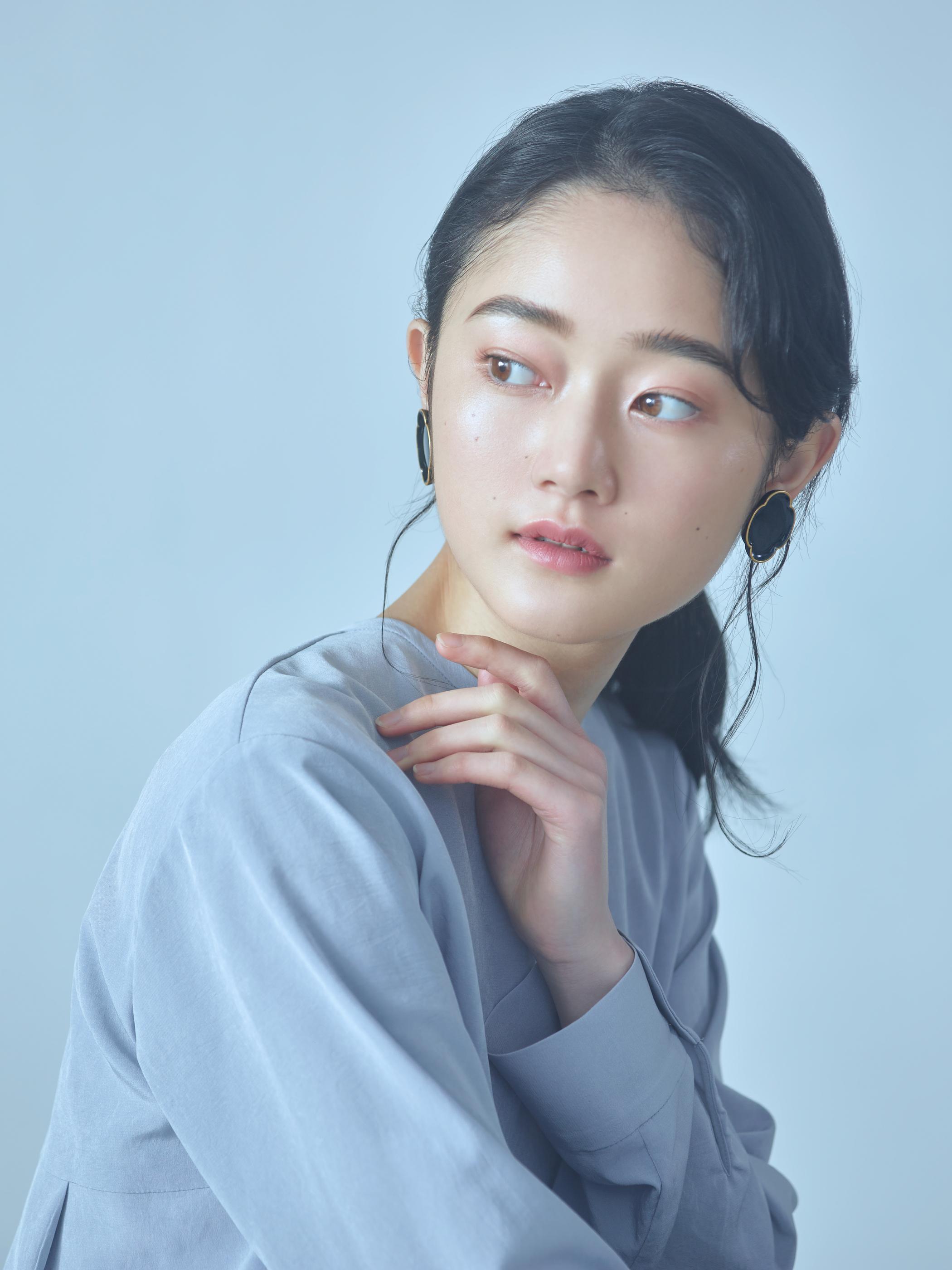01 木瓜/Mokkou Earrings - Black
