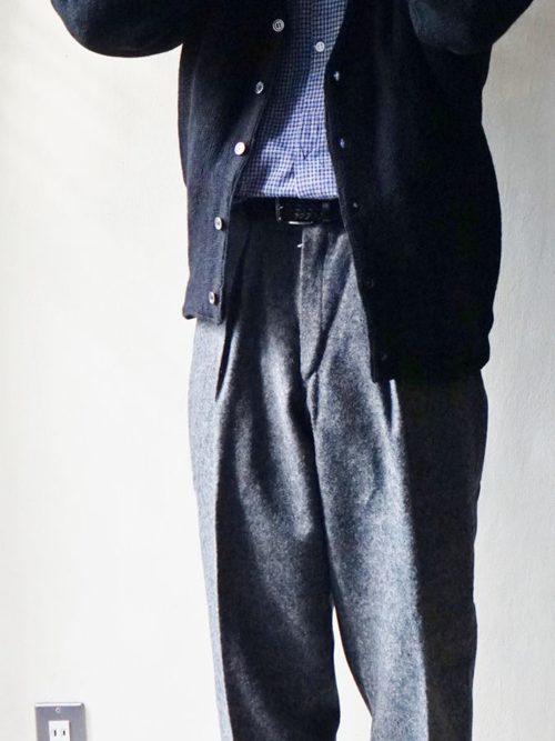 60s Danish Military Wool Trousers Dead Stock