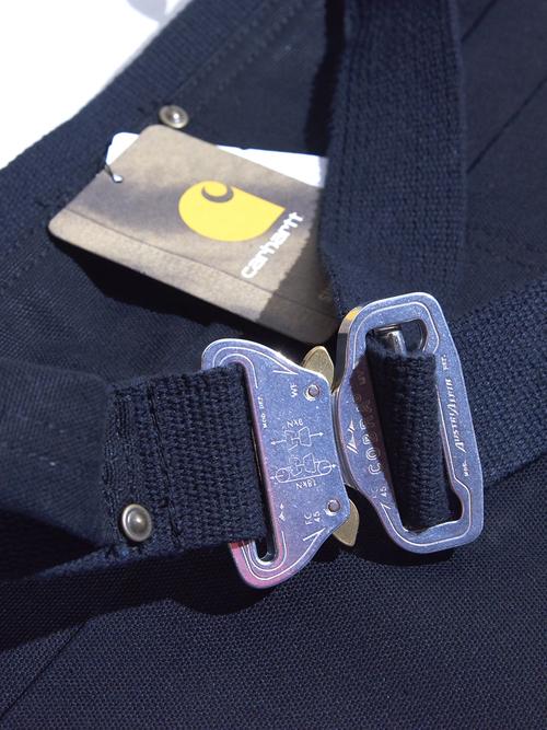 "NOS 2000s ""Carhartt"" cobra buckle apron -BROWN- & -BLACK-"