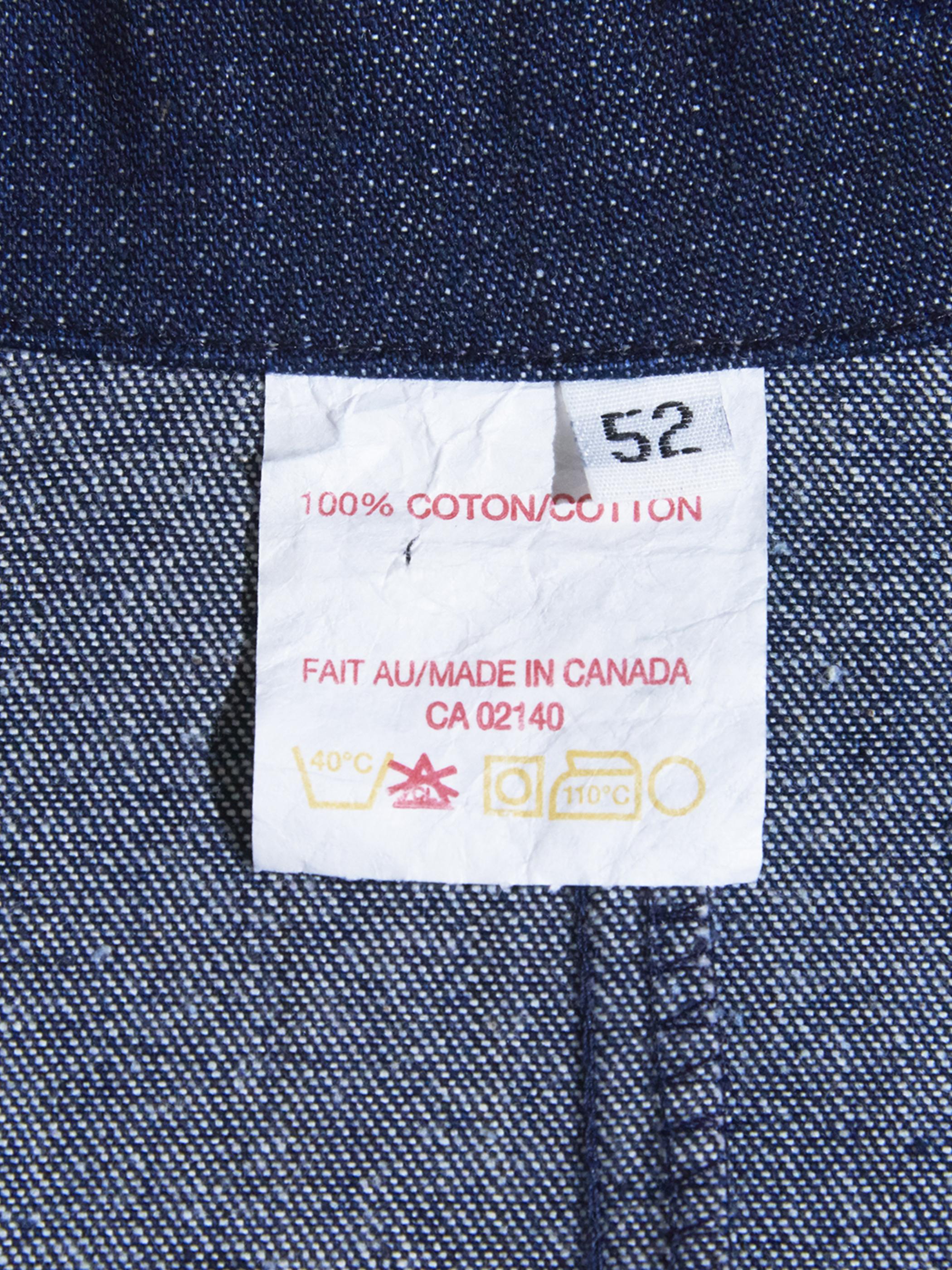 """1990s """"unknown"""" big size denim jacket -INDIGO-"""