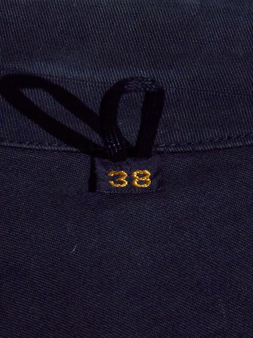 "1950s ""British Railways"" MACKINTOSH coat -BLACK-"
