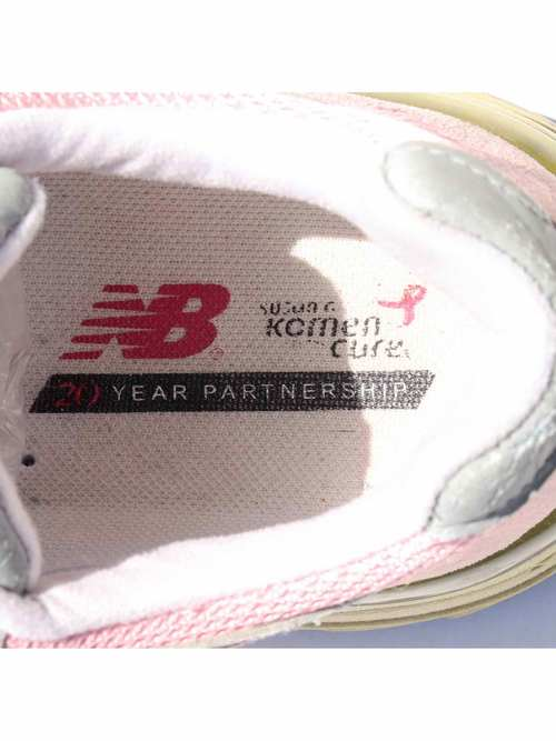 00's~ NEW BALANCE 993 USA製 ピンクリボン スニーカー [Women's US9.5]