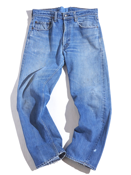 "1960s ""LEVIS"" 505 Big E denim pants -INDIGO-"