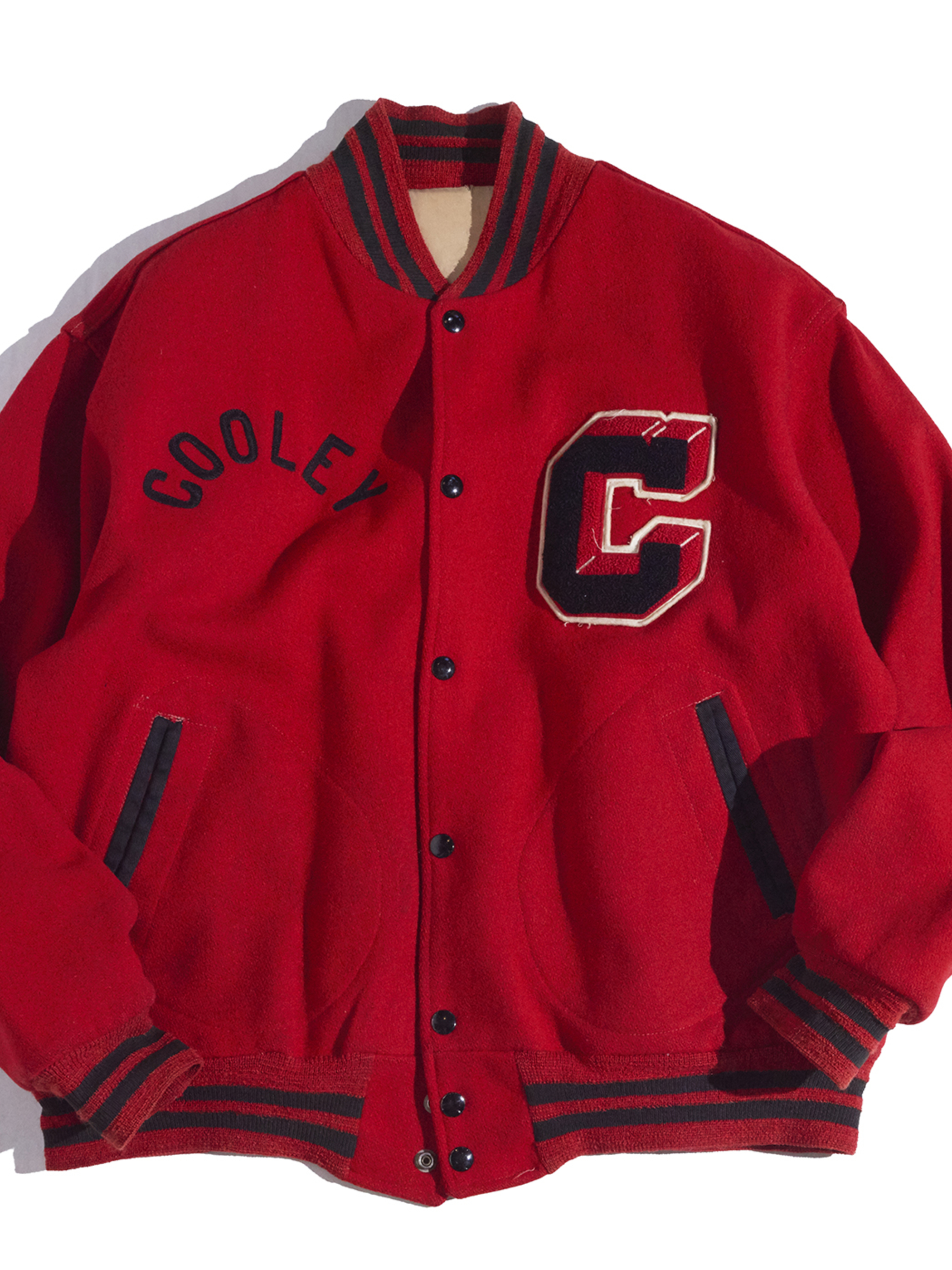 "1950s ""LIPPMANS"" reversible award jacket -RED-"
