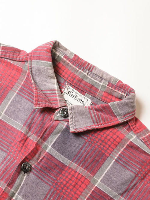 Bellaine / 1960'sVintage / Print Flannel Shirt