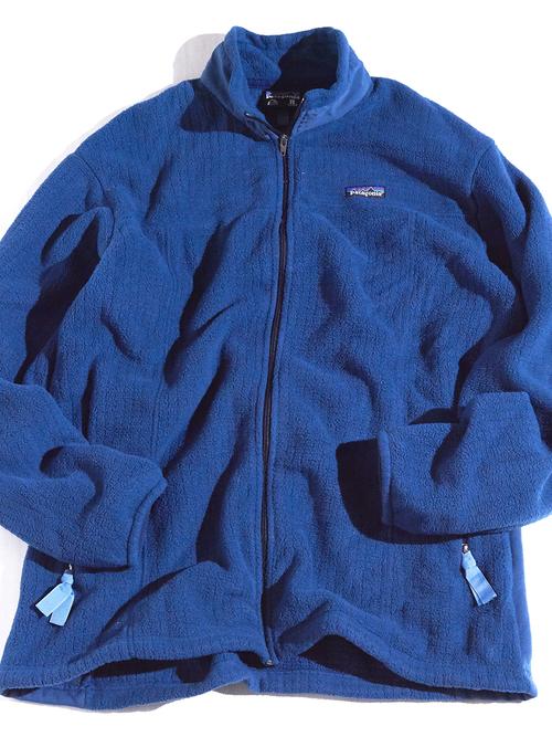 """1999y """"patagonia"""" R2 fleece jacket -SAX-"""