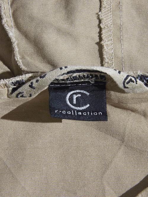 "1990s ""R COLLECTION"" cotton anorak parka -BEIGE-"