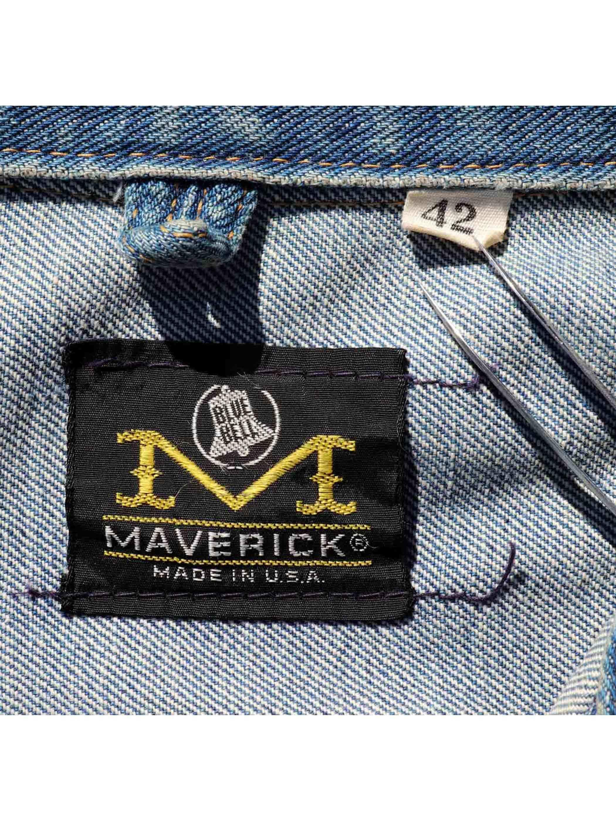 "70's MAVERICK ""3J02MJZ"" イーグルパッチ デニムジャケット [42]"