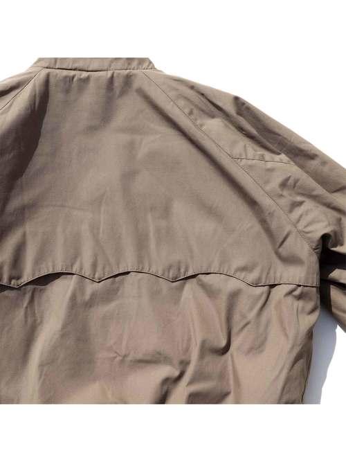 80's DERBY OF SAN FRANCISCO ライトブラウン ハリントンジャケット [XL]