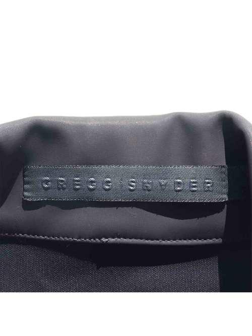 80-90's GREGG SNYDER オープンカラー ボンディングコート [S]
