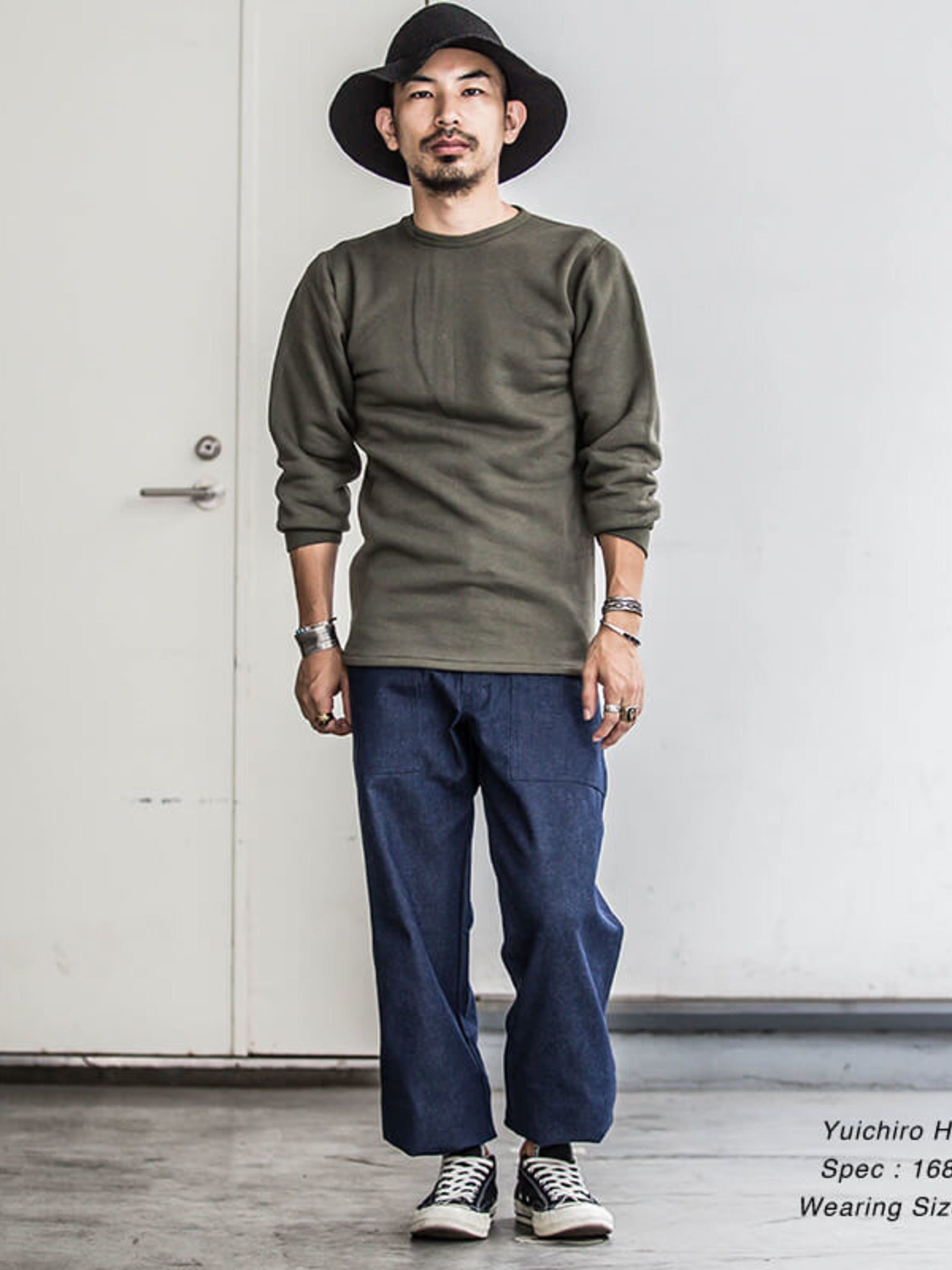 French Military / 1970's〜1980's Deadstock / Crew-Neck Heavy Weight Cut&Sewn